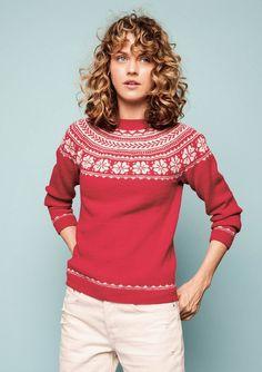 Melkegenser dame Ginny Weasley, Drops Design, Ravenclaw, Crochet Pattern, Knit Crochet, Ravelry, Fair Isle Knitting, Sweater Knitting Patterns, Wool Sweaters