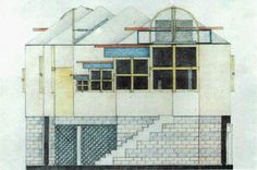 Arqueología del Futuro: 1978 2-4-6-8 House [Thom Mayne & Michael Rotondi] HIPERGRÁFICA