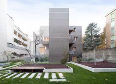 Galería de Edificio residencial en via Bellincione / DAP Studio - 1