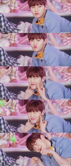 Wanna One Anniversary VLive Busan, Nu Est Minhyun, Daniel Day, My Big Love, Ha Sungwoon, First Humans, 1st Anniversary, Ji Sung, 3 In One