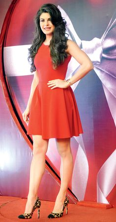 Jacqueline Fernandez at the launch of The Body Shop Pulse Boutique.