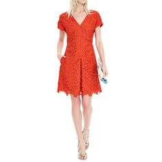 Banana Republic - With an extensive collection of pretty dresses, this is your one-stop shop for frocks that don't end at mid-thigh.Banana RepublicV-Neck Lace Dress, $168.