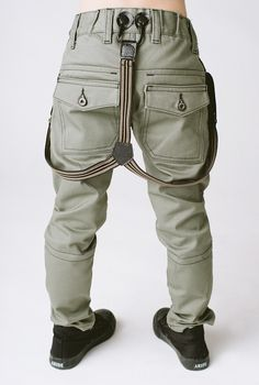 6b0e799c6279 Olive Grey Chinos  49.00 Button Tab Suspenders (add on for jeans and pants)  Suspenders