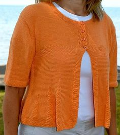 Ravelry: Beth Cardigan pattern by Sue Hilger