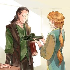 #Loki_Page: Aw... Loki's Slippers! was a gift from mommy Frigga! (by http://under-base.tum...
