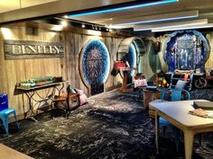 Gypsy Caravan Inspired Trade Show Booth Design Paradigm Shift Worldwide Created For Bentley Mills At The