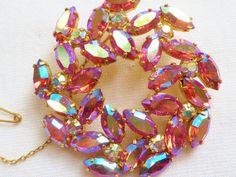 1950's Vintage Aurora Borealis Crystal от missymagpievintage
