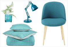 Le bleu canard (que certains appellent aussi bleu paon) fait partie des tonalités vintage remises au goût du jour depuis plusieurs saisons par les designers.
