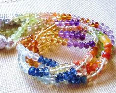 Multi Gemstone Beads