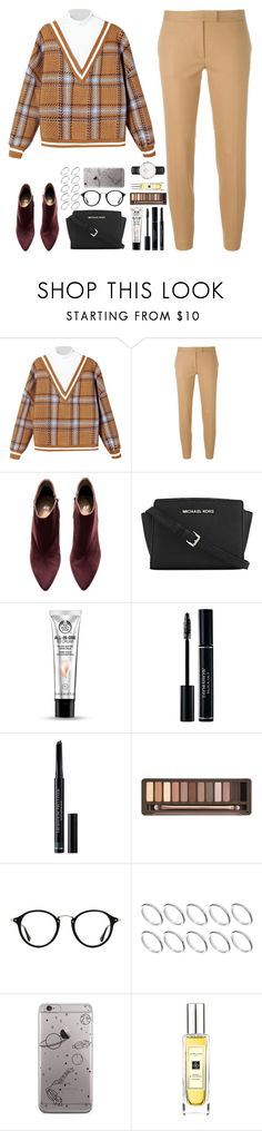 """• Don't wake up •"" by whisperofregret ❤ liked on Polyvore featuring Joseph, H&M, MICHAEL Michael Kors, The Body Shop, Christian Dior, Urban Decay, Ray-Ban, ASOS, Jo Malone and Daniel Wellington"