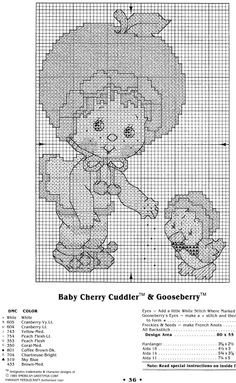 Welcome To The World Of Strawberry Shortcake: Baby Cherry Cuddler and Gooseberry