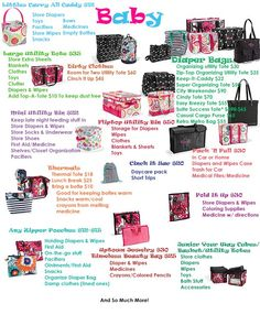 Pamper your mom to be at her baby shower with these gifts. Available at www.mythirtyone.com/nturner