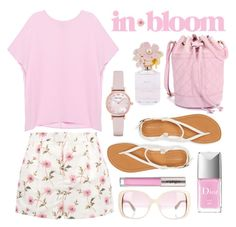 in bloom by leslee-dawn on Polyvore featuring Pinko, RED Valentino, Aéropostale, Emporio Armani, Valentino, CARGO, Marc Jacobs and Christian Dior
