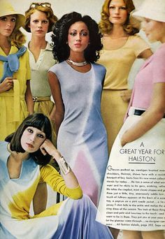 #HALSTON #70s