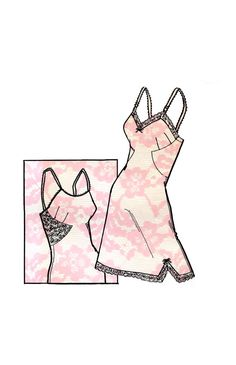 Vintage 1960s Women's Lingerie Taffetized by DesignRewindFashions, $15.00