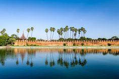 photo - Adriaan Louw - Myanmar. Royal Palace in Mandalay