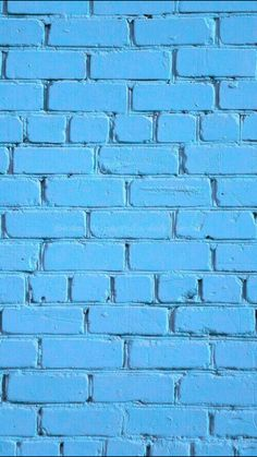 Blue Brick. iPhone wallpaper