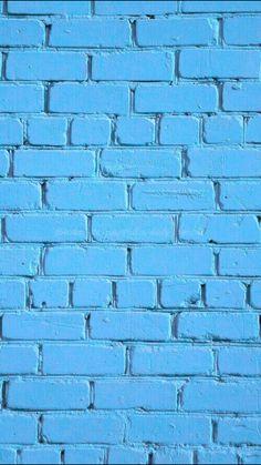 Blue Brick. iPhone wallpaper