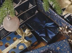 Magnificent Midnight Blue Christmas Gift Wrap - WHSmith Blog