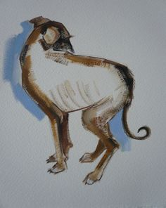Lurcher Puppy by Sally Muir