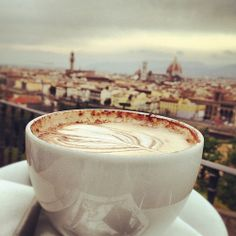We like our Cappuccino with a view