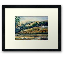 Outside Canberra, ACT, Australia.  Framed Print and an ideal gift idea for someone special.