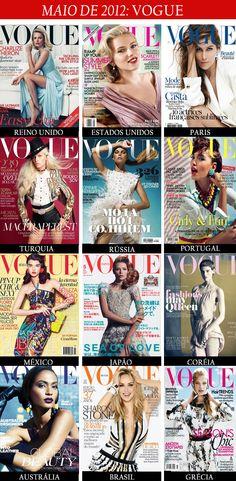 capas das revistas vogue mês de maio