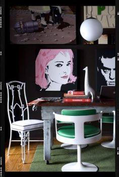 cool prints/portraits and color