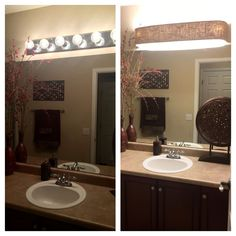 Loews Hollywood Vanity Light Refresh Kit : Cover ugly Hollywood lights- bathroom DIY Home Pinterest Hollywood, .tyxgb76aj