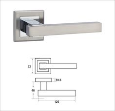 Modern door handle (Z1290) I have a similar handle available at Home Depot