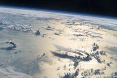 Cloudscape Over the Philippine Sea via NASA...