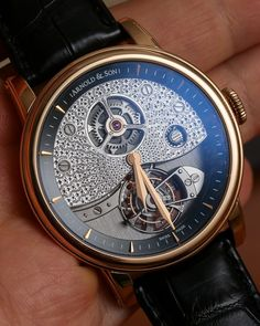 Arnold & Son TE8 Metiers d'Art Tourbillon