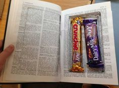 Surprise Stash of Sweets Found in Cambridge Library