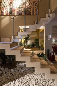 Unique modern staircase design ideas for your dream house 1 Dream Home Design, Modern House Design, Home Interior Design, Interior And Exterior, Interior Ideas, Interior Colors, Modern Interior, Escalier Design, Modern Stairs