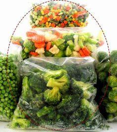 BRANQUEAMENTO Madame Amélia: Como congelar legumes e verduras: a técnica de branqueamento