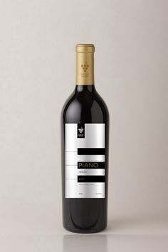 Piano Wine (Concept) | Packaging of the World: Creative Package Design Archive and Gallery
