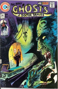 The Many Ghosts of Doctor Graves 44 Charlton Comics by LifeofComics Dr Tales of Horror Steve DITKO Terror Scary Creepy Nightmare 1974 #comicbooks