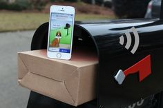 Smart mailbox specifically designed for your packages, both tracking them and keeping them safe.