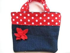 Reversible Bag for Girls (Free Sewing Pattern)