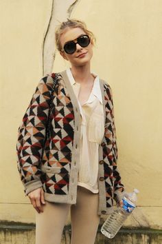 Jessica Stam- model off duty
