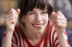 Sally Hawkins as Poppy. Happy-go-Lucky by Mike Leigh.