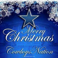 Dallas cowboys happy birthday card dallas cowboys fan - Dallas cowboys merry christmas images ...