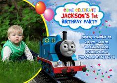 Thomas the Train Birthday Party Invitation by FantasticInvitation, $8.99