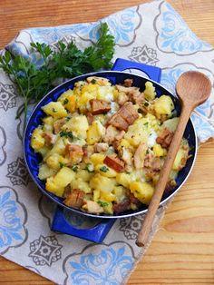 Makacska konyhája: Nyúlhúsos, krumplis egytál Cheeseburger Chowder, Macaroni And Cheese, Soup, Ethnic Recipes, Mac And Cheese, Soups