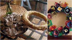 egg catoon wreath