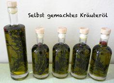 Kräuteröl selber machen / Anleitung / Rezept