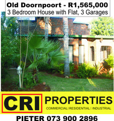 3 Bedroom House, Pretoria, Welcome Home, Garages, Property For Sale, Swimming Pools, Lounge, Yard, Flat