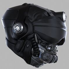 Ryan Love shared 3 3D Helmet Concepts done in Zbrush | CGVILLA