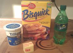 Copy Cat Recipe e – Popeyes Biscuits Popeyes Biscuit Recipe, Sprite Biscuits, Wrap Recipes, Recipes Dinner, Yummy Recipes, Dinner Ideas, Bisquick Recipes, Restaurant Recipes, Copycat Recipes