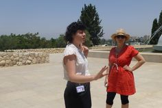 Loving Our Tour Guide at the Israel Museum